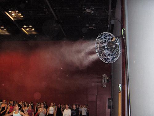 ventiladores refrigeración evaporativa madrid