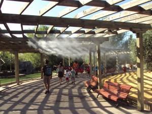 refrigeracion areas descanso parques tematicos