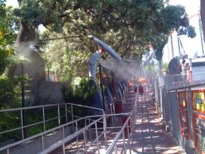 refrigeración colas espera parques atracciones