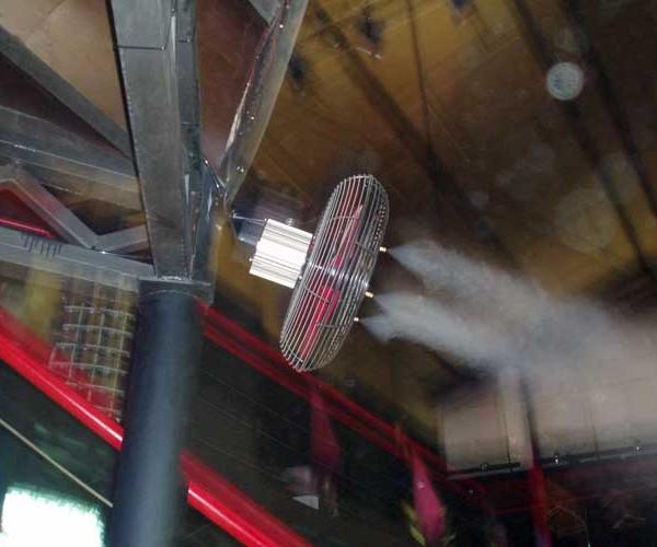 ventiladores pulverizadores madrid