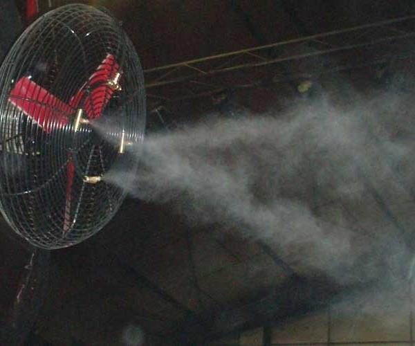 Ventiladores de nebulización de agua