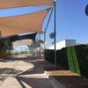 ventiladores nebulizadores entrada parque acuatico warner