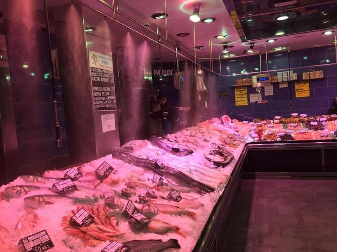 Nebulizacion pescaderia pablos en Pozuelo - Puesta a punto pescaderia Pozuelo